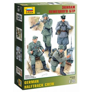 Model Kit figurky 3585 - German Halftrack Crew (1:35)