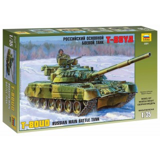 Model Kit tank 3591 - Russian Main Battle Tank T-80UD (1:35)