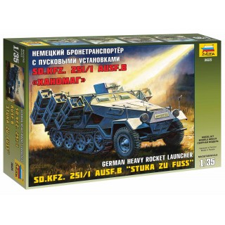 "Model Kit military 3625 - Sd.Kfz.251/1 Ausf.B ""Stuka zu Fuss"" (1:35)"