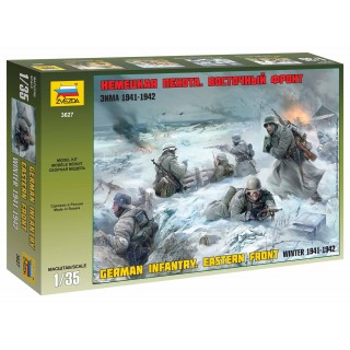 Model Kit figurky 3627 - German Infantry Winter 1941/42 (1:35)