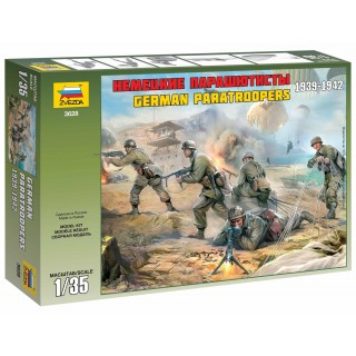 Model Kit figurky 3628 - German Paratroops WWII (1:35)