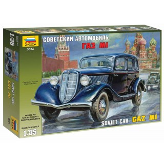 Model Kit military 3634 - GAZ M1 Soviet Car (1:35)