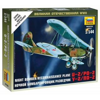 Wargames (WWII) letadlo 6150 - Soviet Plane PO-2 (1:100)