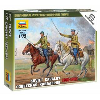 Wargames (WWII) figurky 6161 - Soviet Cavalry (1:72)