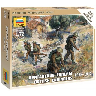 Wargames (WWII) figurky 6219 - British Engineers (1:72)