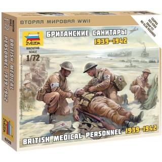 Wargames (WWII) figurky 6228 - British Medic Team (1:72)
