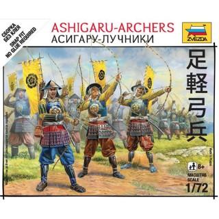 Wargames (SB) figurky 6414 - Ashigaru Archers (1:72)