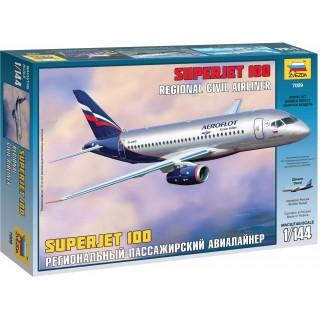 Model Kit letadlo 7009 - Sukhoi Superjet 100 (1:144)