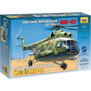 Model Kit vrtulník 7230 - MIL MI-8T Soviet Helicopter (1:72)