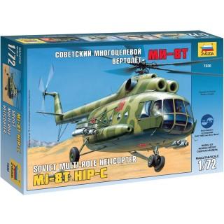 Model Kit vrtulník 7230 - MIL MI-8T Soviet Helicopter (1:72)
