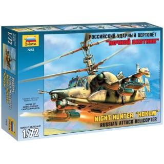 "Model Kit vrtulník 7272 - Kamov KA-50 SH ""Night Hunter"" (1:72)"