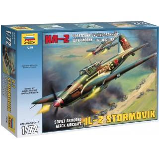 Model Kit letadlo 7279 - IL-2 Stormovik (1:72)