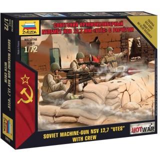 """Wargames (HW) figurky 7411 - Soviet Machine gun """"Utes"""" (1:72)"""