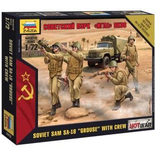 "Wargames (HW) figurky 7412 - Soviet PZRK ""Igla"" 9K38 (1:72)"