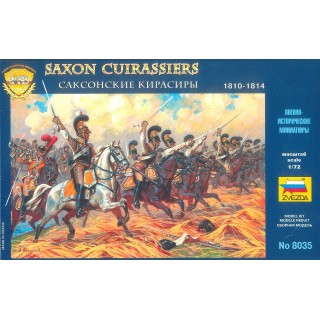 Wargames (AoB) figurky 8035 - Saxon Cuirassiers 1810-1814 (1:72)