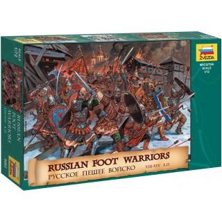 Wargames (AoB) figurky 8062 - Russian Foot Warriors 13-14 Century (1:72)
