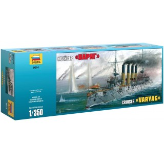 "Model Kit loď 9014 - Russian Cruiser ""Varyag"" (1:350)"