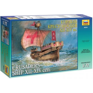 Model Kit loď 9024 - Crusaders Ship XII-XIV cen. (re-release) (1:72)