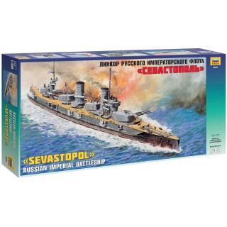 "Model Kit loď 9040 - Battleship ""Sewastopol"" (1:350)"