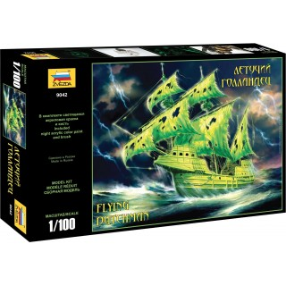 Model Kit loď 9042 - Flying Dutchman (Ghost Ship) (1:100)
