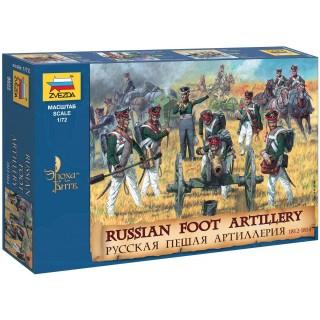 Wargames (AoB) figurky 8022 - Russian Foot Artillery 1812-1814 (1:72)