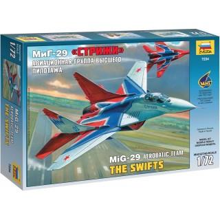 Model Kit letadlo 7234 - MIG-29 The Swifts (1:72)