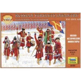 Wargames (AoB) figurky 8040 - Russian Strelets Infantry (1:72)