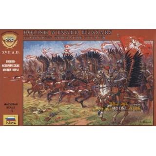 Wargames (AoB) figurky 8041 - Polisch Winged Hussars (1:72)