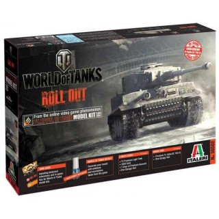 Model Kit World of Tanks 36502 - Pz.Kpfw.VI TIGER I (1:35)