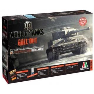 Model Kit World of Tanks 36502 - Pz.Kpfw.VI TIGER I (1:35)