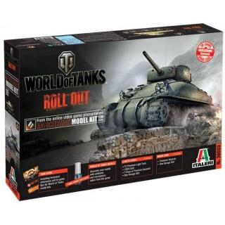 Model Kit World of Tanks 36503 - M4 SHERMAN (1:35)