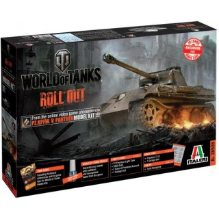 Model Kit World of Tanks 36506 - PANTHER (1:35)