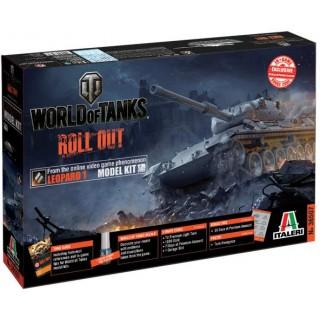 Model Kit World of Tanks 36507 - LEOPARD 1 A2 (1:35)