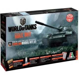 Model Kit World of Tanks 36508 - TYPE 59 (1:35)