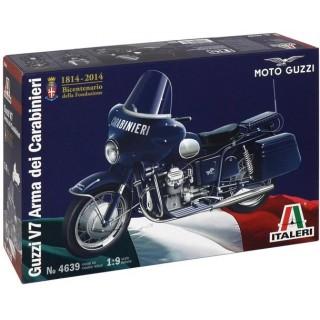 Model Kit motorka 4639 - MOTO GUZZI V7 Arma dei Carabinieri (1:9)