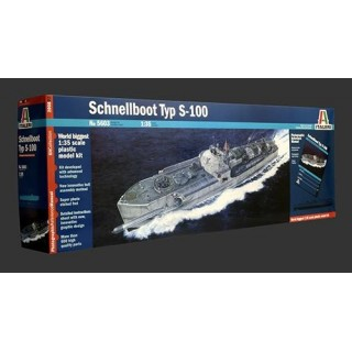 Model Kit loď PRM edice 5603 - SCHNELLBOOT TYP S-100 (1:35)