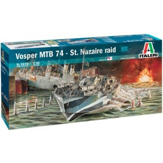 "Model Kit loď 5619 - Vosper MTB 74 ""St. Nazaire Raid"" (1:35)"
