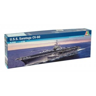 Model Kit loď 5520 - U.S.S. SARATOGA CV-60 (1:720)