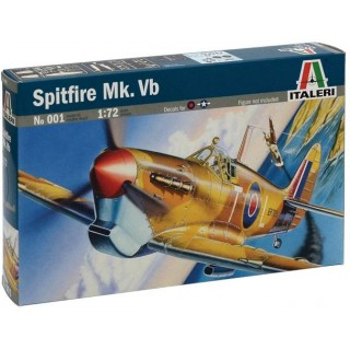 Model Kit letadlo 0001 - SPITFIRE MK.VB (1:72)