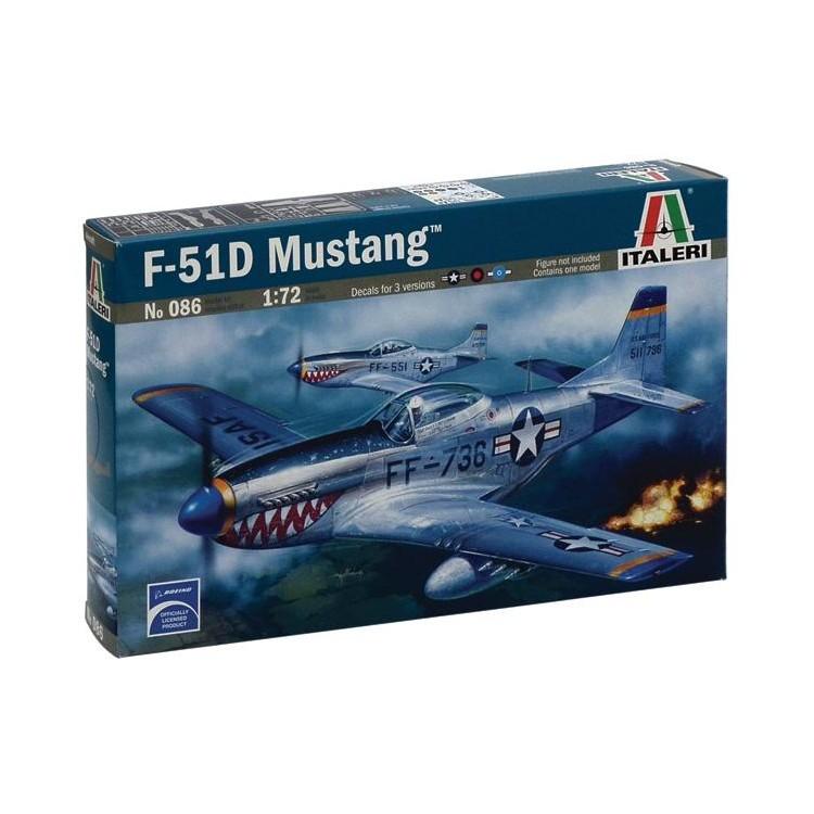 Model Kit letadlo 0086 - F-51D MUSTANG (1:72)