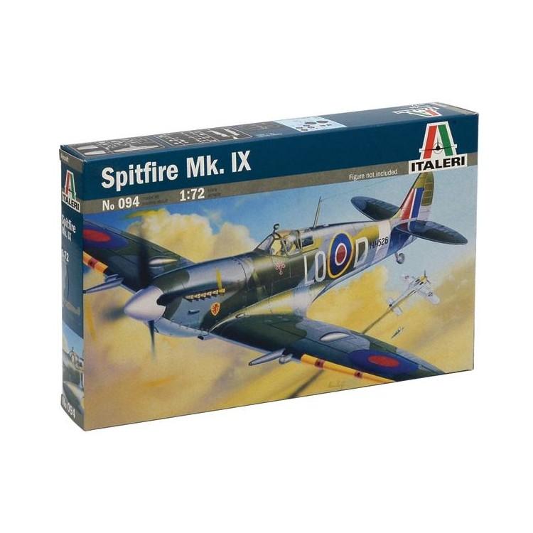 Model Kit letadlo 0094 - SPITFIRE MK.IX (1:72)