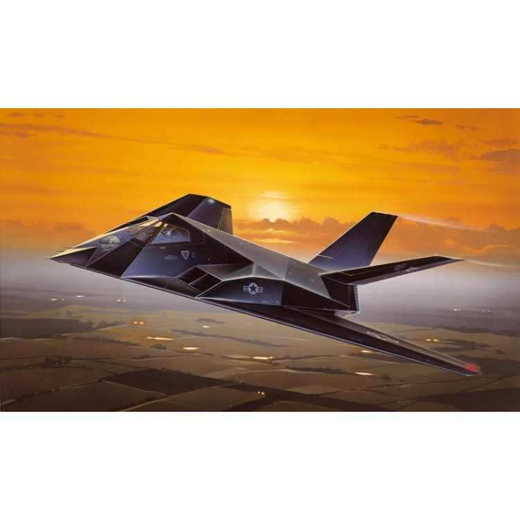 Model Kit letadlo 0189 - F-117A NIGHTHAWK (1:72)
