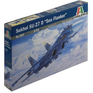 "Model Kit letadlo 0197 - SUKHOI SU-27 D ""SEA FLANKER"" (1:72)"