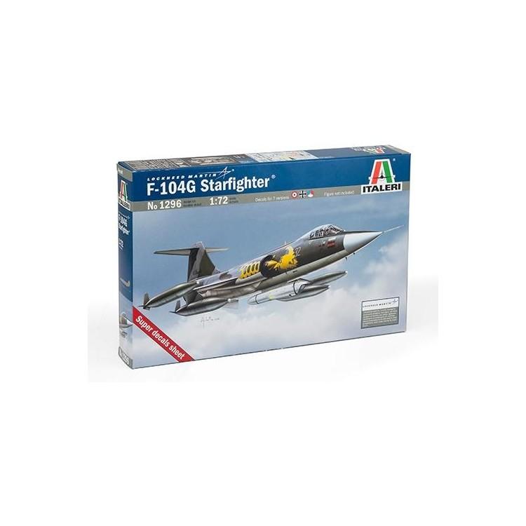 """Model Kit letadlo 1296 - F-104 G """"Starfighter"""" (1:72)"""