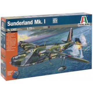 Model Kit letadlo 1302 - SUNDERLAND Mk.I (1:72)