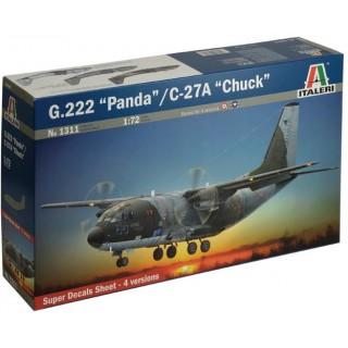 "Model Kit letadlo 1311 - G.222 ""PANDA"" (1:72)"