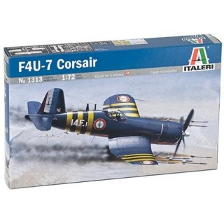 Model Kit letadlo 1313 - F4U-7 CORSAIR (1:72)