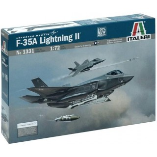 Model Kit letadlo 1331 - F-35A LIGHTNING II (1:72)