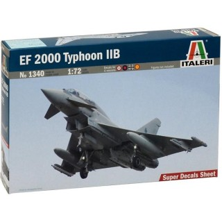 Model Kit letadlo 1340 - EF 2000 TYPHOON with seater (1:72)