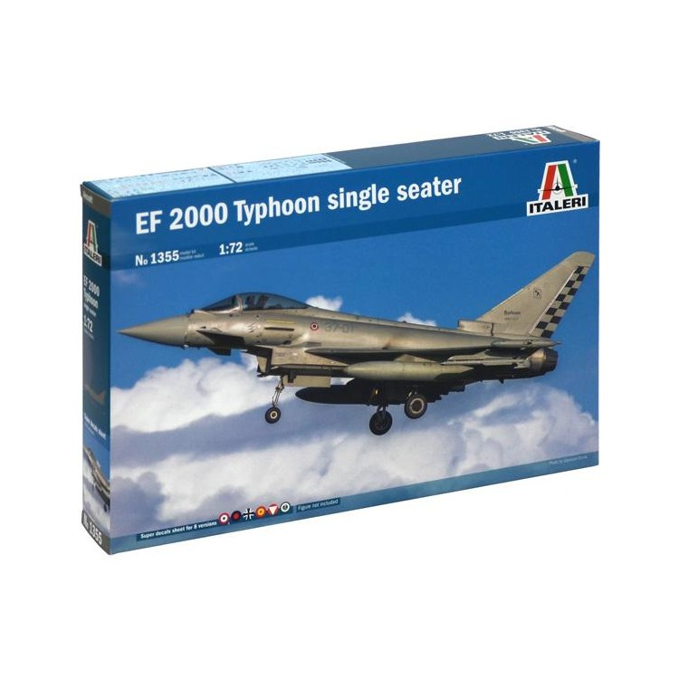 Model Kit letadlo 1355 - EF-2000 TYPHOON Single Seater (1:72)